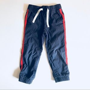Lined jogger pants